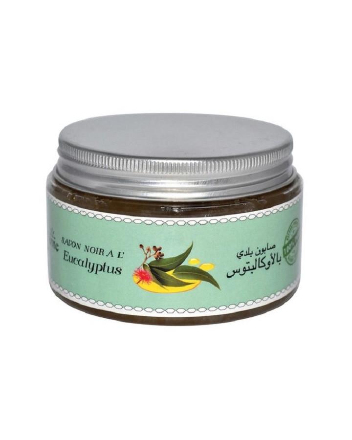 Марокканское мыло Бельди с эвкалиптом (100г)