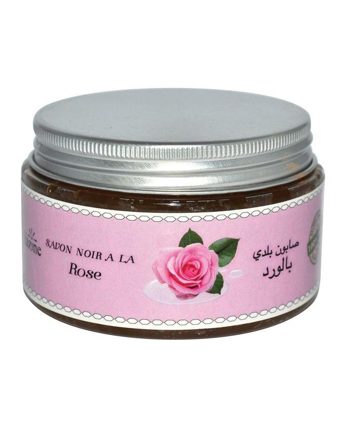 Мароканское мыло Бельди с розой (100г)